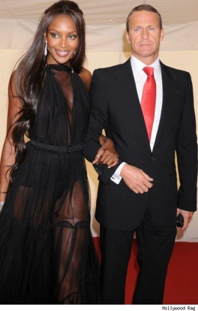 naomi campbell 40th birthday party