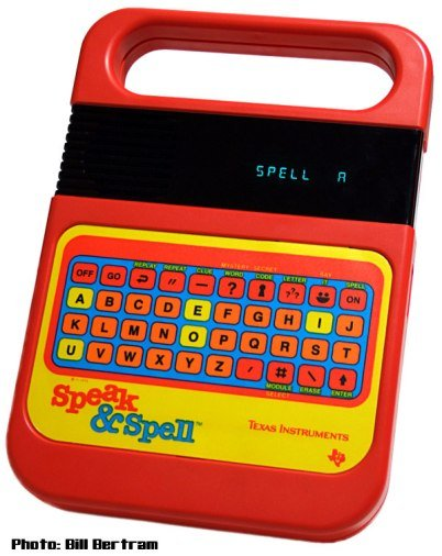 speak and spell vintage