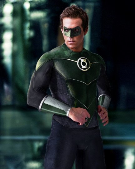 Green Lantern Ryan CGI Suit