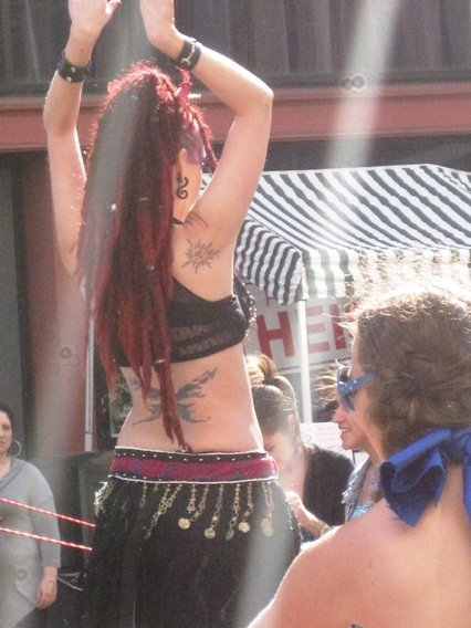 How Weird Street Faire Performer