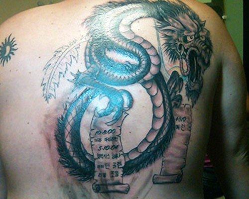 jon gosselin dragon tattoo girlfriends name