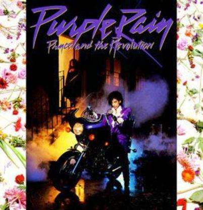 purple rain album cover 1984