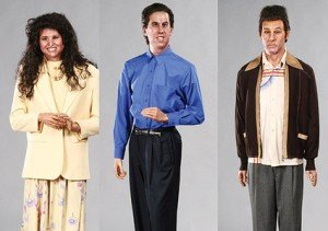 seinfeld wax figures