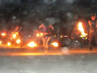 fire ball dancing burning man 2010