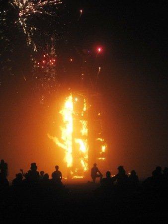 fire burn burning man 2010