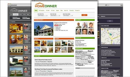homeowners real estate wordpress theme