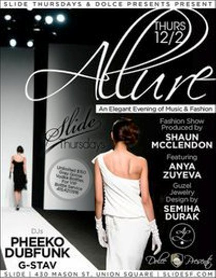 Allure Fashion Show Poster