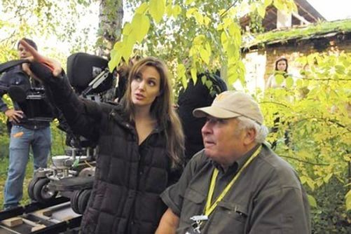 angelina jolie directing war film
