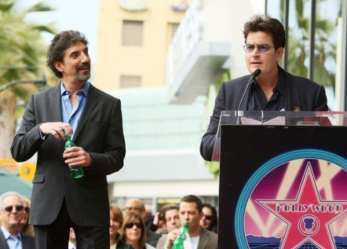 chuck lorre vs charlie sheen