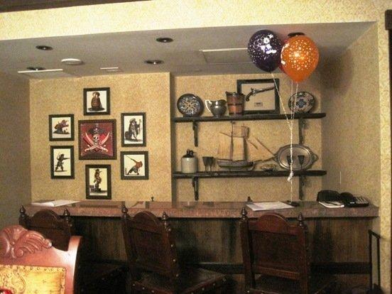 disneyland hotel pirates of the caribbean suite kitchen bar