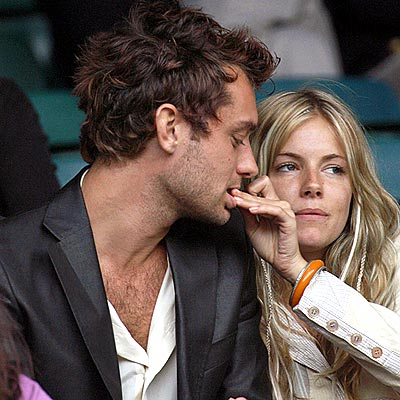 jude law sienna miller break up