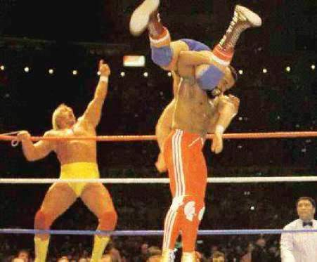 wrestlemania 1 main event 1985