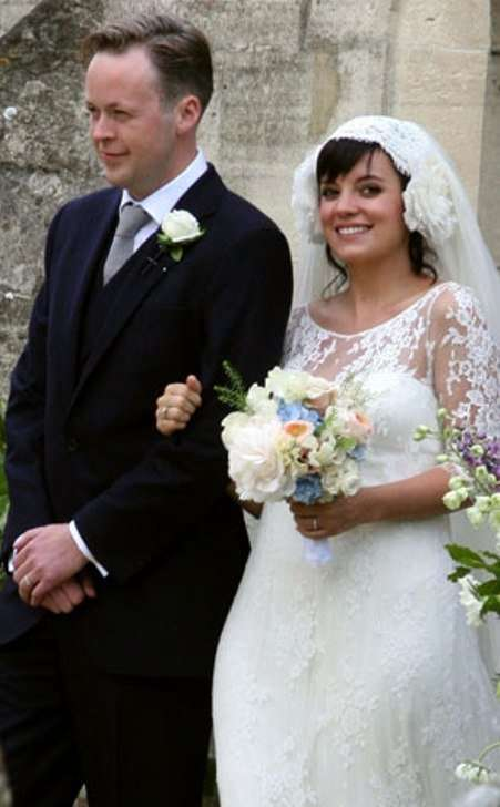 lily allen married pregnant