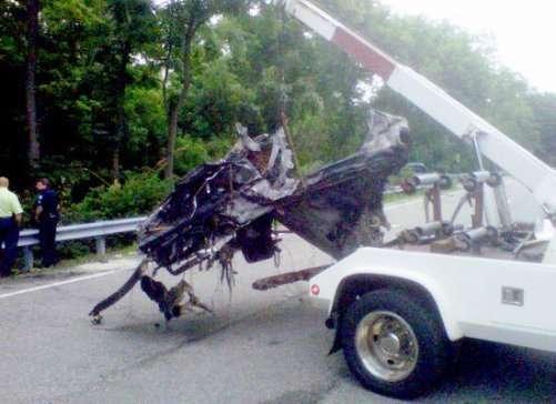 ryan dunn car crash fire