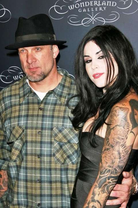 kat von d jesse james back together