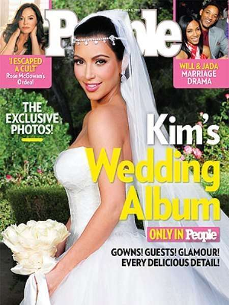 kim kardashian wedding people magazine cover
