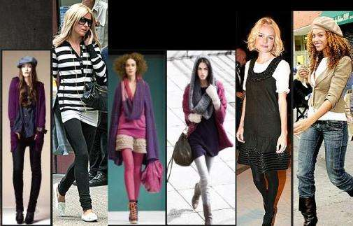 celebrity fashion layering