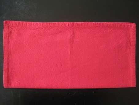 napkin folding santa hat 1