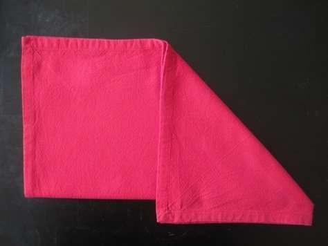 napkin folding santa hat 2