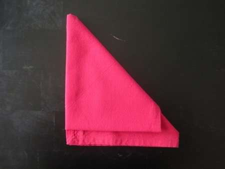 napkin folding santa hat 5