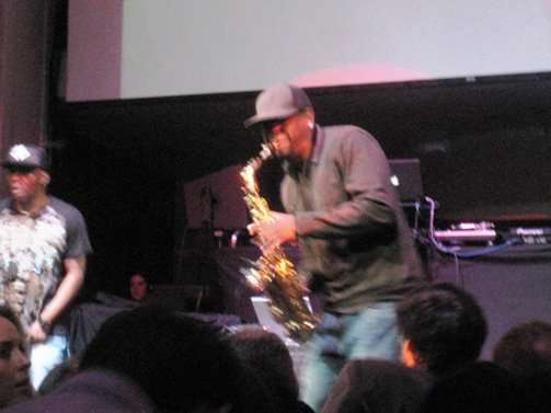 sax player coolio