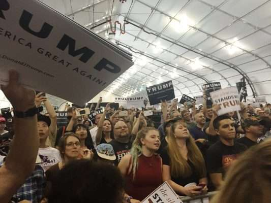 Donald Trump Rally San Jose Convention Center