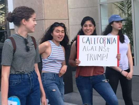 California against Trump